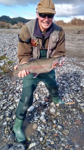 Brian Batson with a good fish