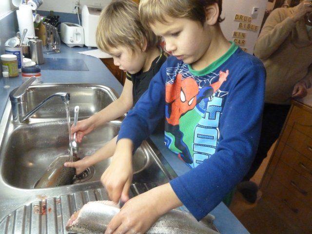Kids love the whole process
