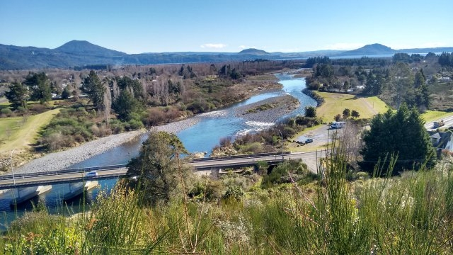 From the lookout above State Highway 1