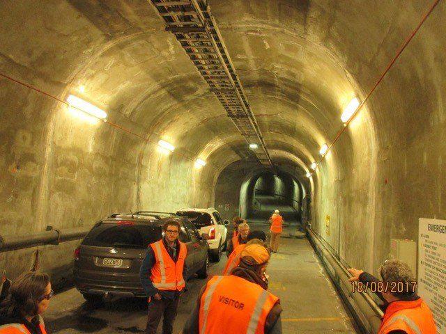 Gathering underground
