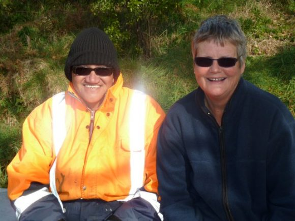 The planting bosses Paea and Marja