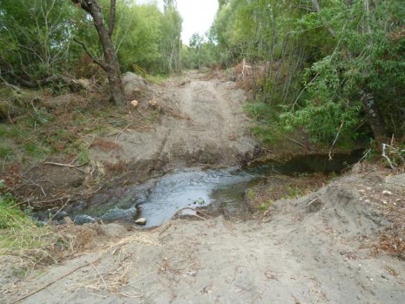 069 The track crosses the Hirang Stream