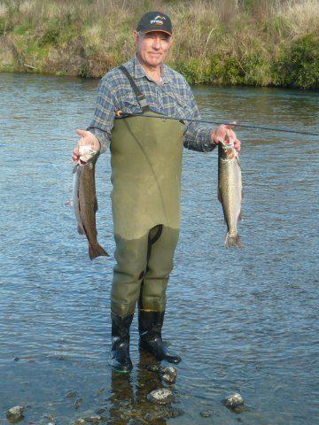 Bryan Brwnlie- a happy angler